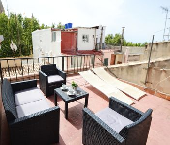 Photo for DUOMO 4. Sweet duplex in a very charming area, La Lonja, near the Cathedral