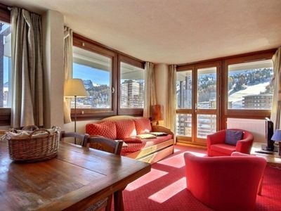Photo for Apartment La Plagne, 2 bedrooms, 7 persons