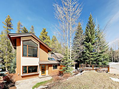 Photo for Stunning 4BR w/ Hot Tub, Balcony & Fireplace - 5 Minute Walk to Ski Shuttle