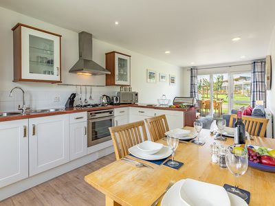 Photo for Single-storey, two-bedroom cottage is ideally situated for the Country Club