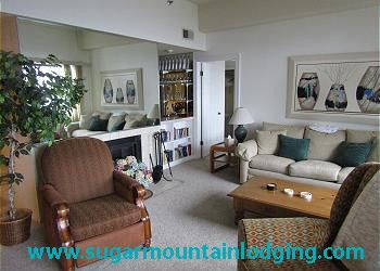 Photo for 5th Floor Sugar Top Condo 2520. Grandfather view, rented by Sugar Mtn Lodging