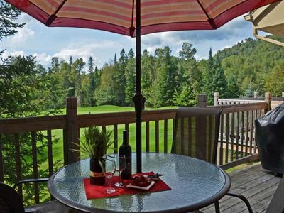 Photo for Cozy Condo on the Golf in Mont-Tremblant