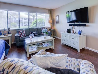 Photo for Beautiful New Condo! Steps from the Pool and Beach! NEW to Market!