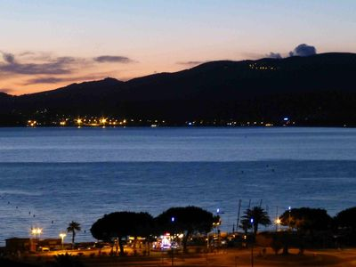 Photo for APARTMENT OF STANDING TERRACE PANORAMIC VIEW GULF OF AJACCIO