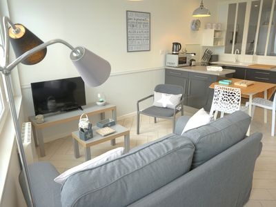 Photo for beautiful apartment, renovated, close to the beach