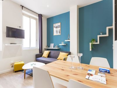 Photo for Modern apartment for 4 people *VIEUX PORT*