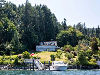 Photo for Waterfront Oasis with Private Dock – Ganges Harbour