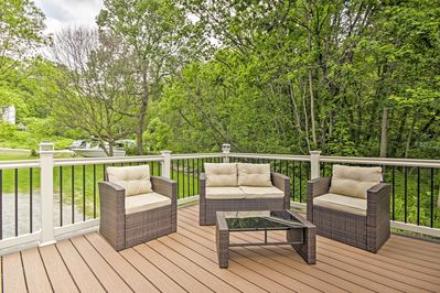 Sit and relax as you enjoy the breeze.