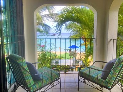 Photo for Beach House on Paynes Bay on the west coast (Special rates at certain times)