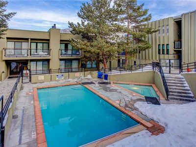Photo for 1 minute walk to lifts at Park City Mountain! Pool, Hot Tub, New Furniture. Affordable and Cozy!