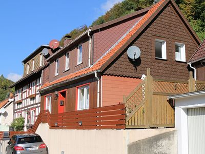 Photo for Cosy ground floor apartment with private terrace in the beautiful Harz region