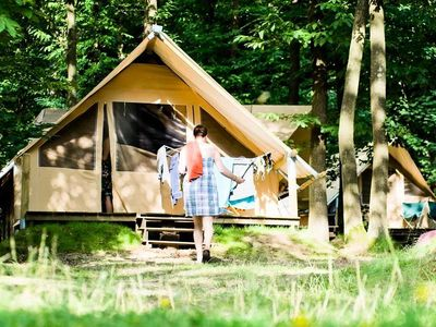 Photo for Camping Huttopia Senonches *** - Canadian Tent 3 Rooms 5 People