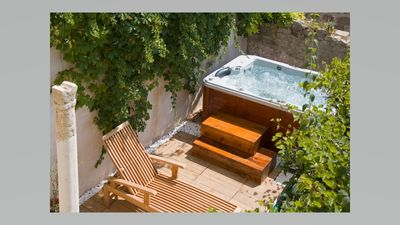 Photo for Charming Stone Villa in Hvar City Centre with yard jacuzzi