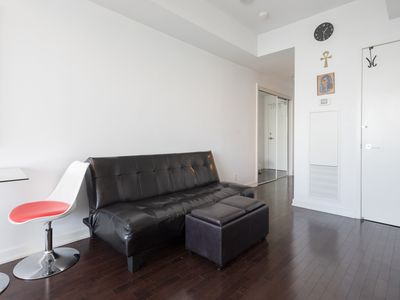 Photo for 50+ floor Condo with Balcony with CN tower view