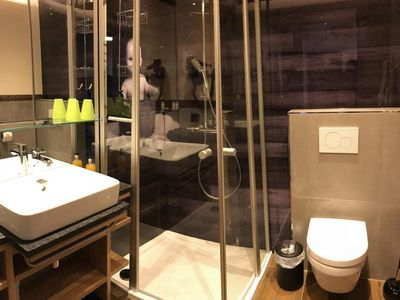 Photo for Double room D with shower, WC - Almresort Baumschlagerberg