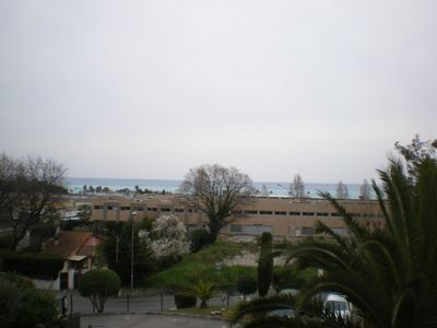 Photo for APARTMENT SEA VIEW 300 METERS FROM THE BEACH AND TRADE AND STATION
