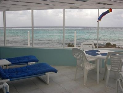 Photo for Beautiful Ocean Front Sea Lodge in Cayman Kai
