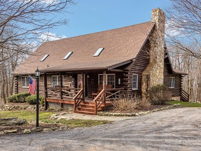 Photo for Beautiful Log Home In Woods, Close To DC, Baltimore, Gettysburg, Hiking Trails