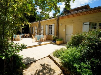 Photo for Holiday home and its annex for 12 people