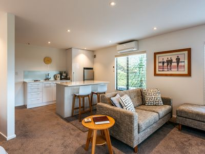 Photo for Stunning Private Guest Suite, Palm Beach Waiheke Island,