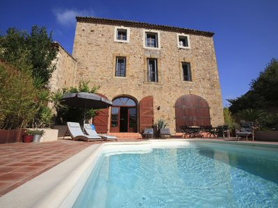 "Photo for Beautiful ""Maison Vigneron"" In pretty wine village near Pezenas & Mediterranean"