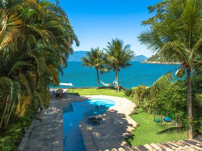 Photo for Paradisiaca house with direct access to the sea in Angra dos Reis