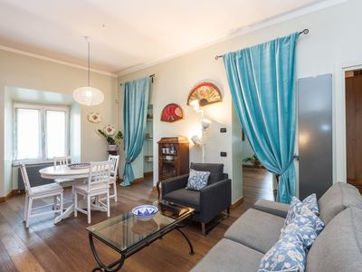 Photo for Apartment 817 m from the center of Rome with Internet, Air conditioning, Lift, Washing machine (638981)