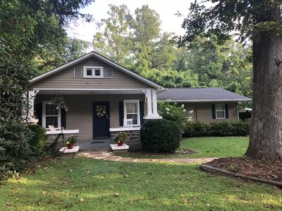 Remodeled, spacious, perfect location for exploring. Large yard w fire pit