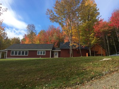 Photo for New, Custom-Built Vermont Retreat With Old World Charm