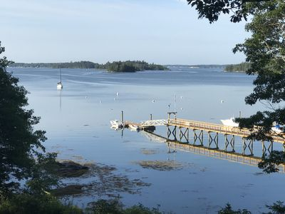 Photo for Private Waterfront Cottage Boothbay, Maine: The Little House Sawyer's Island