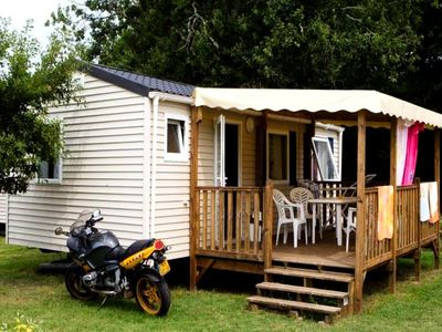 Photo for Camping Landes Bleues **** - Mobil Home Comfort 3 Rooms 4/6 People