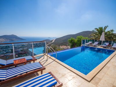 Photo for Villa Orak is brand new luxury villa in Kalkan built in a very modern style  and luxury inside and o