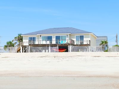 Photo for Beachfront 4 BR, 3 bath, sleeps 12 - Fantastic Views!