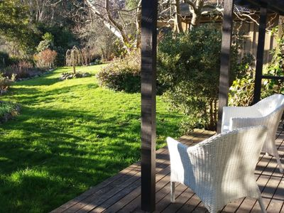 Photo for Cozy guesthouse in stunning garden
