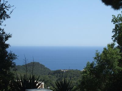 Photo for Quietly located detached house, a beautiful sea view, large terrace, central heating