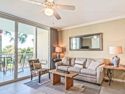 Photo for New Listing! Destin West Condo: Heated Pool, Hot Tubs, Private Beach Access