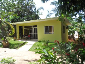 New Garden Bungalow In A Tropical Setting.
