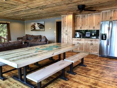 Photo for Newly remodeled cabin on Daggett • PONTOON INCLUDED