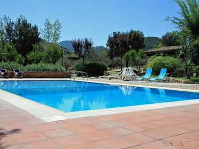 Photo for Villa with swimming pool & tennis court in heavenly surroundings, apt. Bellis