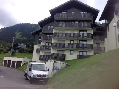 Photo for Close to ski lift and all amenities, ski back to the apartment