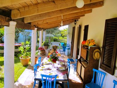 Photo for Villa Angela, surrounded by greenery, in the center of Alghero, near the beach, with Wifi