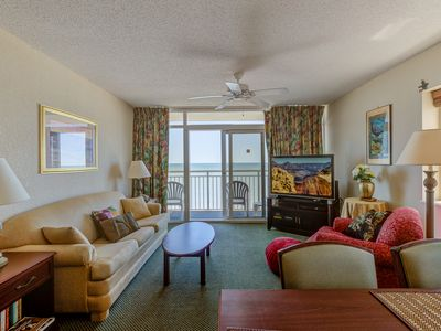 Photo for Oceanfront,master on ocean,living/dining room on ocean with fabulous views!