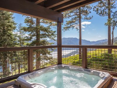 Photo for Overlook - Luxury Tahoe Donner 4BR with Amazing Views & Private Hot Tub