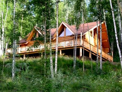 Photo for Beautiful Log Lodge with Spectacular Views