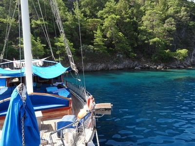 Photo for Blue Cruise sailing holiday in a Gulet along the Mediterranean Sea in Turkey