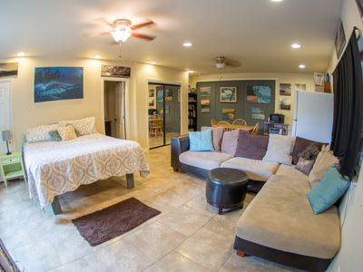 Photo for The Art Studio- Private Home Away From Home In Paradise!!