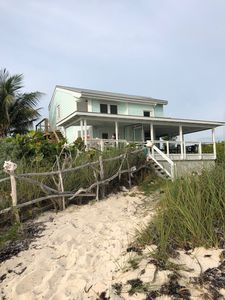 Photo for Tennessea Turquoise - Oceanfront home, Featured on HGTV Bahamas Life