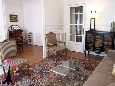 Photo for Champs Elysees Argentine apartment in 17ème - Arc de Triomphe with WiFi & lift.