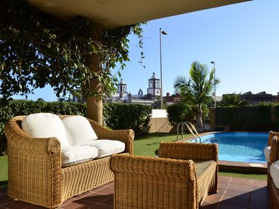 Photo for Cozy house situated in Meloneras beside Maspalomas