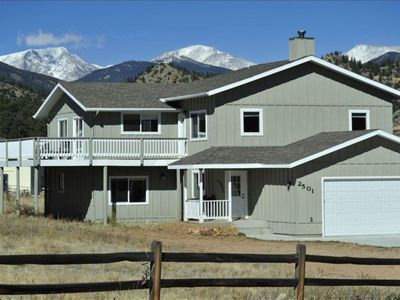 Photo for Enjoy Beautiful Mountain Views in all directions at the Mountain Meadow House